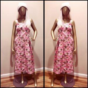 Dresses & Skirts - Handmade, puppy, maxi dress!! You heard me!!